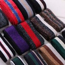 Метр Bling Webbing аксессуары для одежды декоративная лента многоцветный ремешок для обрезки ленты кружевные шнуры
