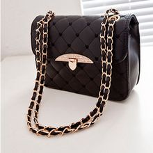 New Fashion Casual Lady Candy Color Girls Messenger Bags Chain Women Shoulder Crossbody Bag Designer High Quality Leather Clutch