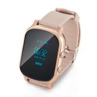 Children T58 Smart GPS WIFI Tracker Locator Anti Lost Watch For Kids Child Student Smartwatch With