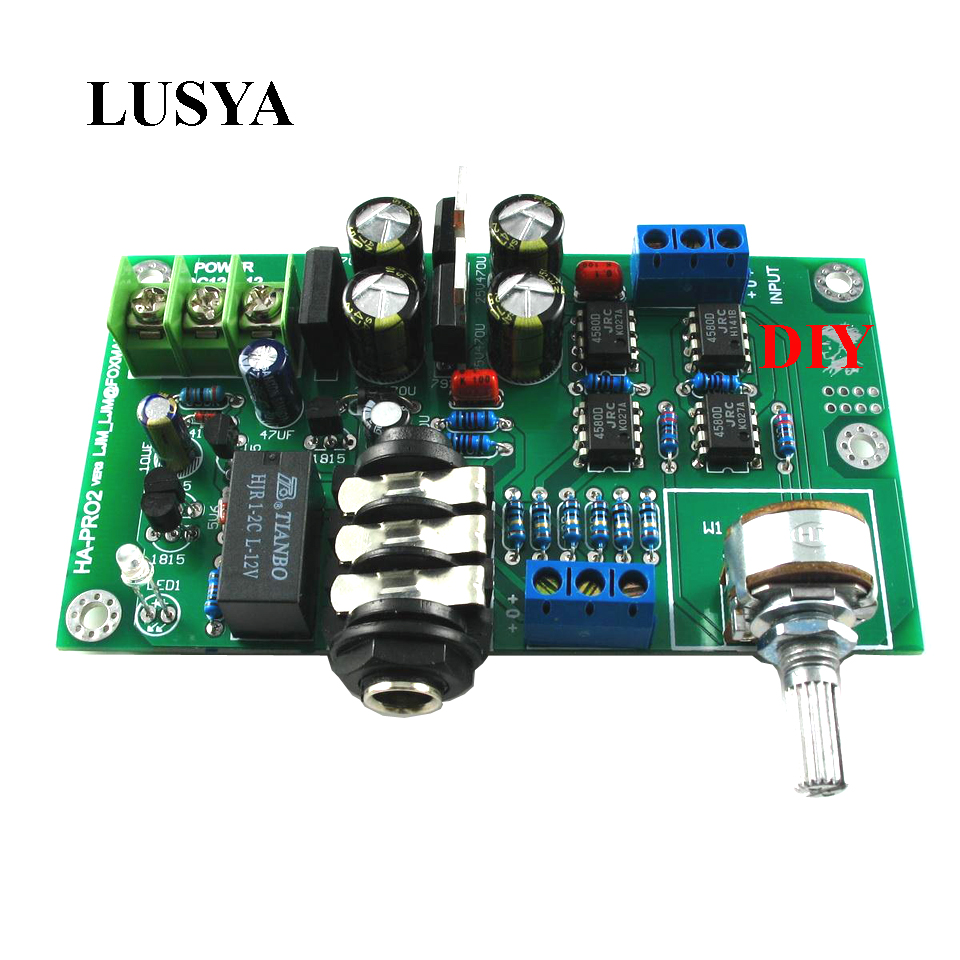 Buy Headphone Amplifier Kit And Get Free Shipping On Head Phone Circuit Electronic Circuits Diagram