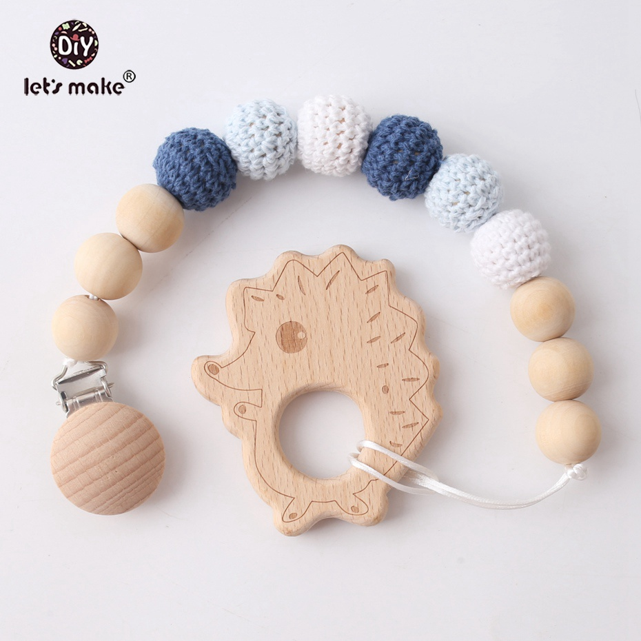 Lets Make Teether Clip 10pc Beech Owl Food Grade Wood Teether Sensory Chewing Toy Making Bracelets Molar Teeth Nursing PendantLets Make Teether Clip 10pc Beech Owl Food Grade Wood Teether Sensory Chewing Toy Making Bracelets Molar Teeth Nursing Pendant