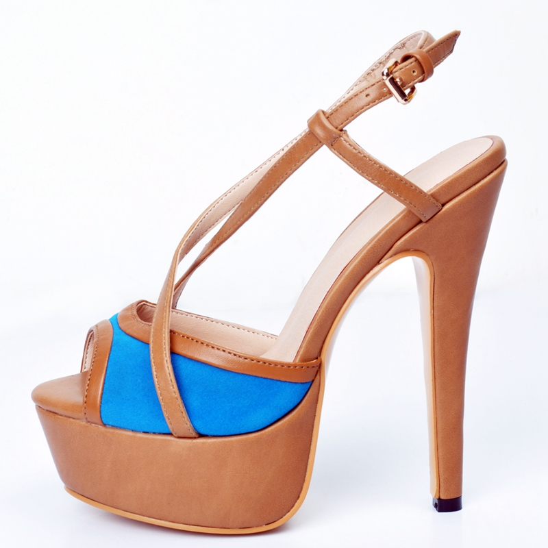 Mode Loisirs À Brun Talon Femme Sandalia Sandale Feminina Super Marron Chaussures Solide forme Bout Couleur Haute D'été Ouvert Plate 6wZwq