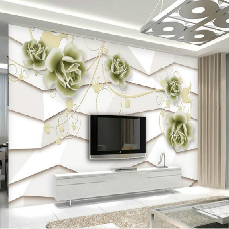Customization backgrounds 3D wallpaper for walls 3d wallpaper murals photo Non Woven silk for living room Rose stereo TV wall blue earth cosmic sky zenith living room ceiling murals 3d wallpaper the living room bedroom study paper 3d wallpaper