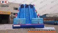 Популярные гигантская надувная аквагорка/открытый игрушки коммерческих надувные слайд для школы