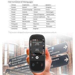 """Image 3 - Boeleo W1 Pro 音声写真愛翻訳 4 グラム WIFI 8 ギガバイトメモリ 3.0 """"LCD/IPS 1780mAh 76 言語オフライン旅行ビジネス翻訳"""