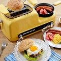 Домашняя машина для завтрака  сэндвич-машина  многофункциональный тостер  машина для выпечки хлеба  яичная плита  машина для жарки бекона