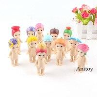 Sonny Angel Action Figure Sweets Series Flower Series Figure Let's Find Your Favorite Flowers Ver. Mini Toy 12pcs/set 7.5 8cm
