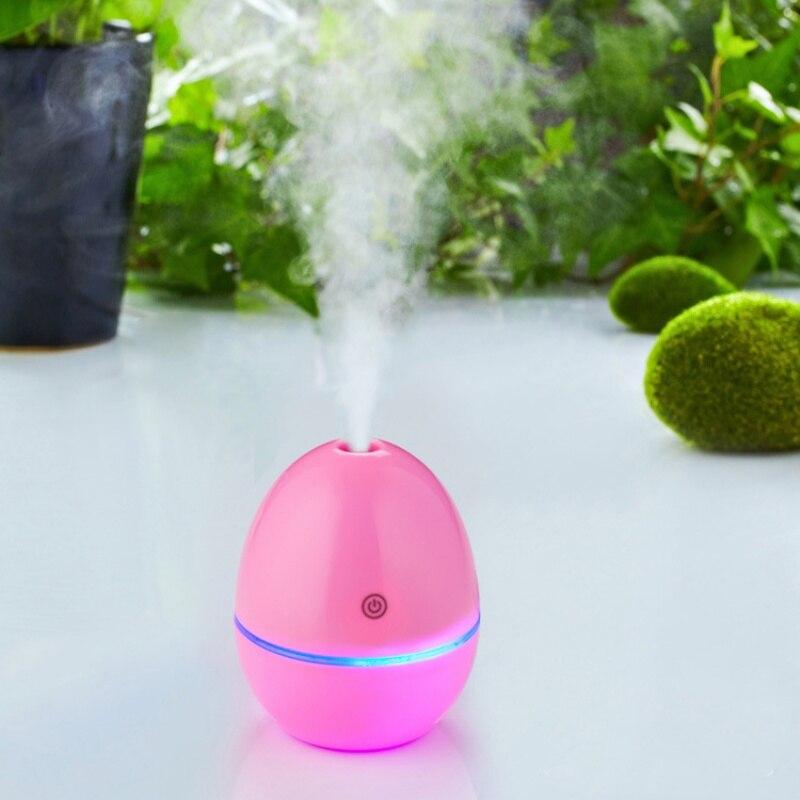 30ML Egg Shape Ultrasonic Essential Car Air Purifier Aroma Huile Essentiel Aromatherapy Mist Maker Air Freshener 2W