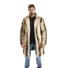 2018 Inverno Visone Del Faux Cappotto di Pelliccia uomini di Imitazione Cappotto  di Pelliccia Turn Imbottiture 05ee58b5a92