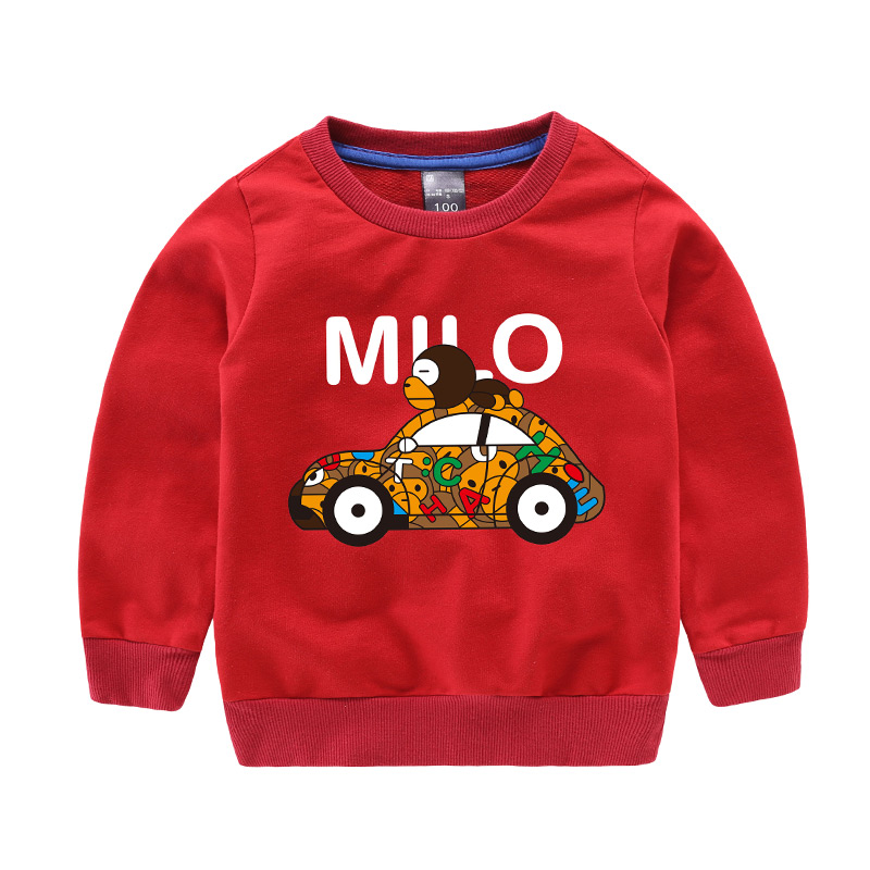 Pioneer Kids 2017 New 2-11T Children Boys Tops Kids Clothes Long Sleeve Tshirts Christmas Cartoon T-Shirts Baby T shirt Clothing pioneer cam t shirt