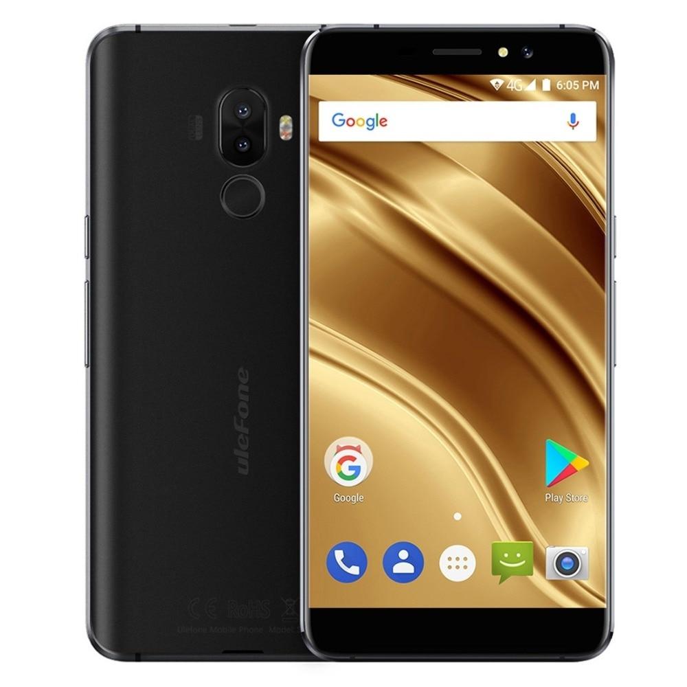 Ulefone S8 Pro Dual Hinten Kameras Handy 5,3 zoll HD MTK6737 Quad Core Android 7.0 2 GB + 16 GB 13MP Fingerabdruck 4G Smartphone