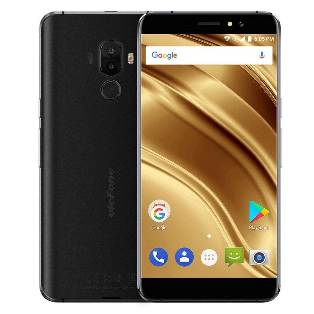 Ulefone S8 Pro Dual Telecamere Posteriore Del Telefono Mobile 5.3 pollice HD MTK6737 Quad Core Android 7.0 2 GB + 16 GB 13MP Impronte Digitali 4G Smartphone