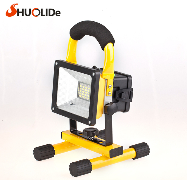 Portable Lamp Mobile Work Light Car Warning Lights Spotlights Floodlight  Camping Lights Linterna Camping Led Camping
