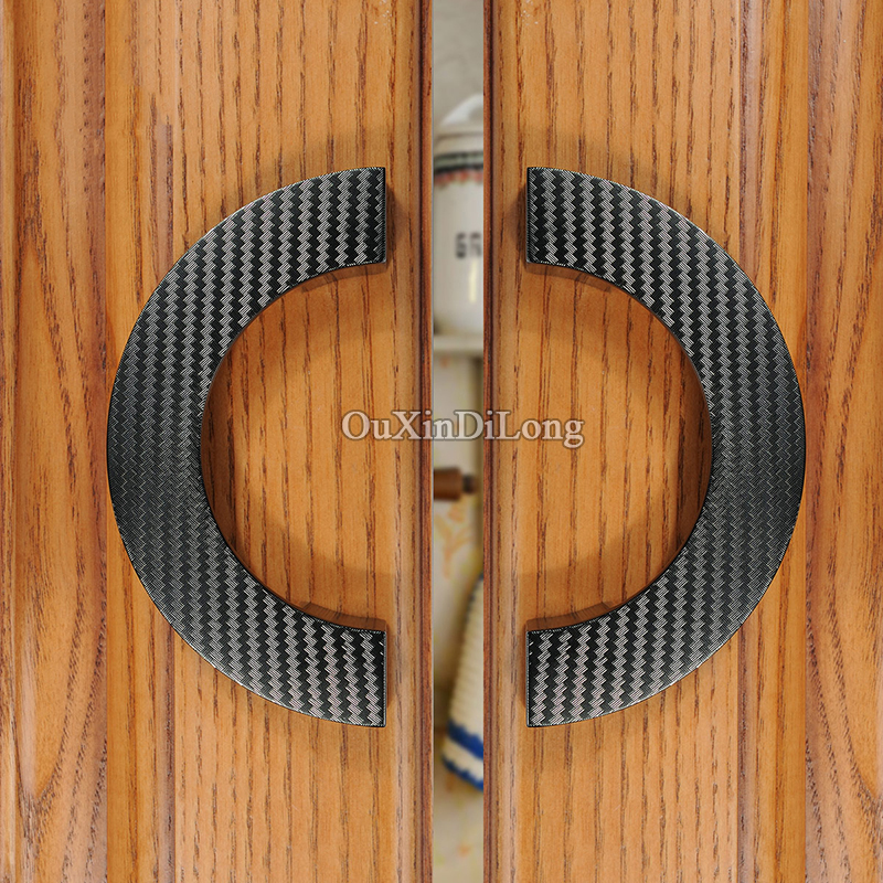 New 2PCS European Solid Zinc Alloy Kitchen Cabinet Door Handle Thicken Cupboard Wardrobe Drawer Cabinet Pulls Handles and Knobs in Cabinet Pulls from Home Improvement