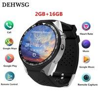 Dehwsg H99C Смарт часы MTK6580 2 ГБ + 16 ГБ 3g + gps + WiFi 400 мАч Smartwatch напоминание Android 5,1 Носимых устройств PK KW88 LES1