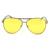 Óculos de Visão noturna Óculos Oversized óculos de Sol Dos Homens Das Mulheres Grife Polarizada Óculos de Condução UV400 Gafas de sol Hombre Mujer
