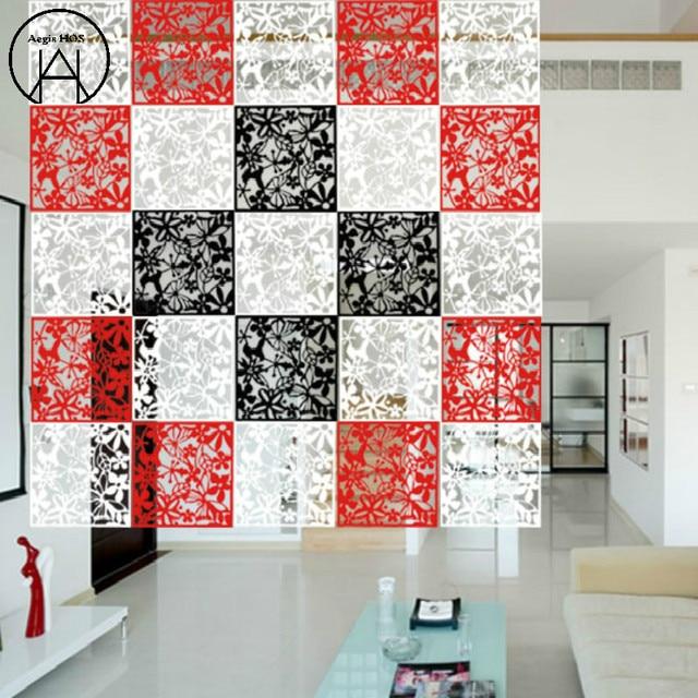 8pcs Hanging Screen Creative Tv Setting Wall Art Paper Cut Sitting