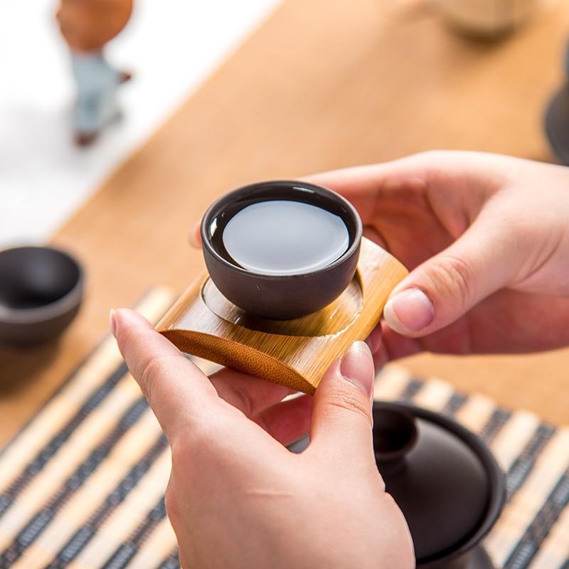 Teáscsésze Kávéscsésze lila agyag Teáscsésze Kínai kung fu - Konyha, étkező és bár - Fénykép 5