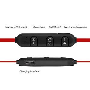 Image 5 - DUSZAKE L16 Manyetik kablosuz bluetooth Kulaklık Telefon Bas Kulaklık kablosuz bluetooth Kulaklık Için Xiaomi Telefonu Koşu
