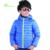 2016 Niños y Niñas Chaqueta de Invierno Con Capucha de Algodón Acolchado Da Vuelta-abajo Niños Espesar Escudo de Calidad Superior los niños Outwear