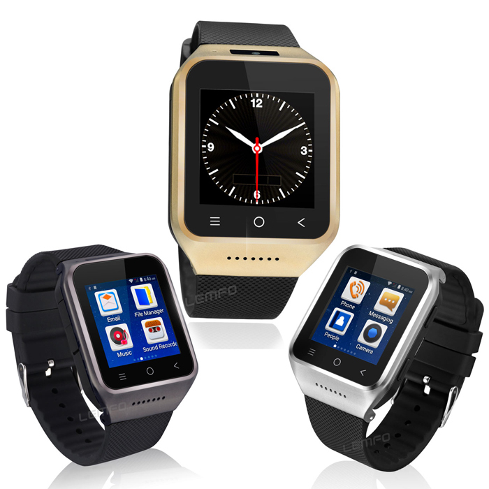 3G Smart Watch SIM S8 1 54 Touch Screen Sports WristWatch Handsfree Cell Phone Watches For