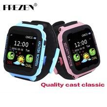 Frezen Умные часы для детей фунтов часы для Apple телефона android smart детские часы SmartWatch детей Умная Электроника