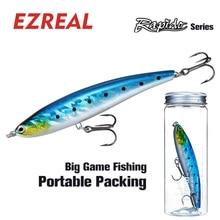 Ezreal RAP120F 120mm 1PC 22g Crankbait sea Fishing Lures Saltwater Wobbler minnow Artificial Hard Bait swimbait Floating pencil