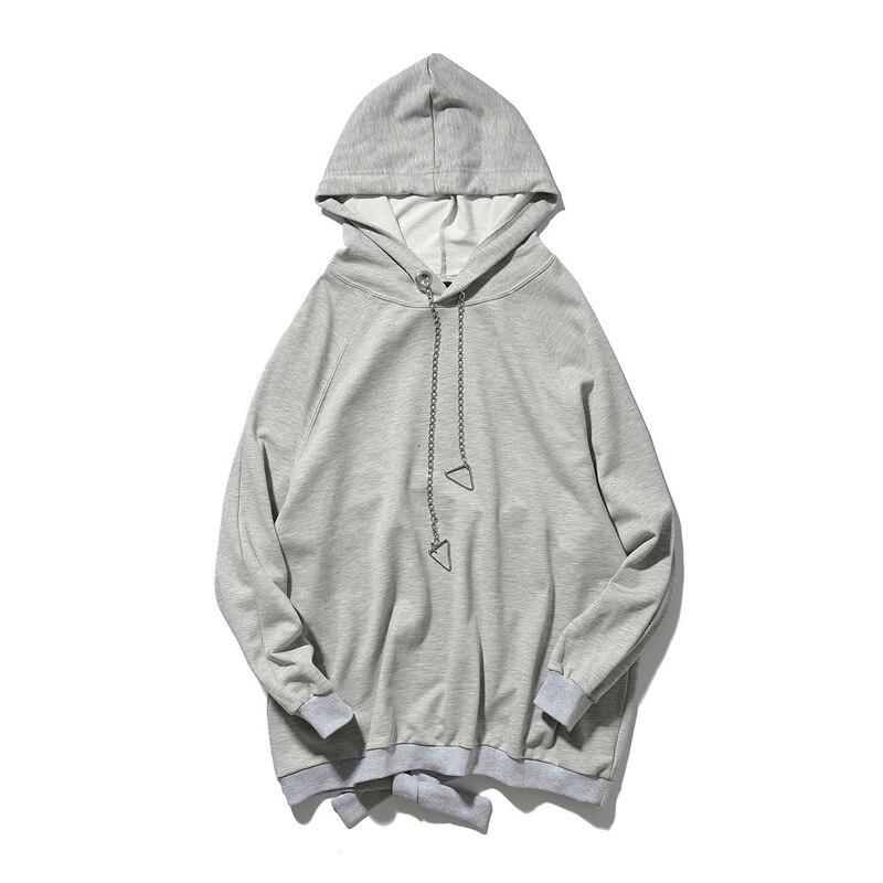 2019 nouveau printemps décontracté homme Streetwear Hip Hop polaire sweat à capuche pour homme Slim Fit mode pulls Sweatshirts Oversize Hoodies