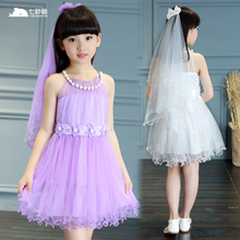 kids dresses for girls summer 2019 vestidos wedding dress  baby girl summer clothes princess dress 4 6 8 10 12 14 years children