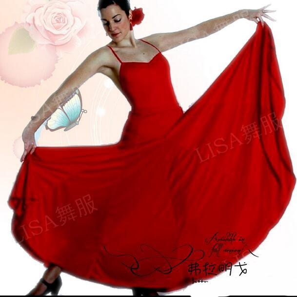 Aliexpress.com : Buy Professional Long Flamenco Skirts Women ...