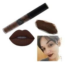 Foonbe Brand Makeup Matte Liquid Lipstick Red Lips Lip gloss Ladies Elegant Lip Makeup Batom Maquiagem