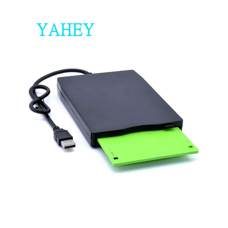 3.55 USB External Floppy Disk Drive Portable 1.44 MB FDD For No Extra Driver Required,Plug And Play,Black