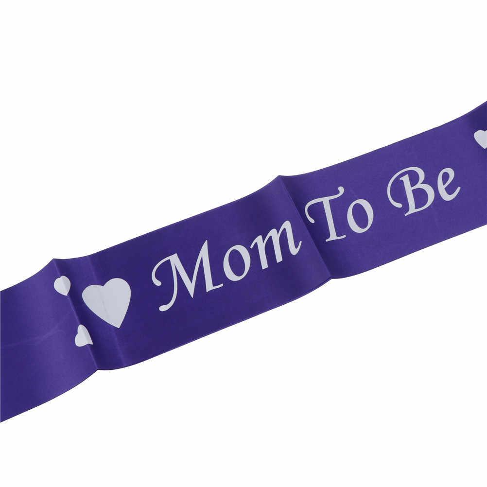 Faja para mamás, decoración para fiesta de bienvenida de bebé, faja para fiesta de recién nacido, regalos para mamás embarazadas