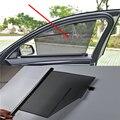 2 шт./лот Гибкая Автомобильная дверь окна Солнцезащитная занавеска для BMW 7 серии F01 X5 F15 G05 X6 F16 G06 X4 F26 X3 F25 X1 F48 F10 G30