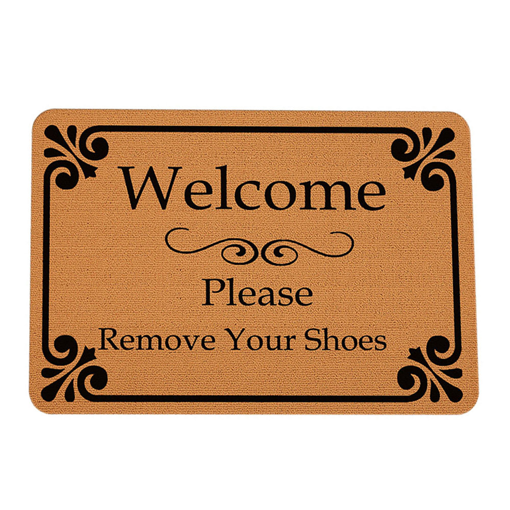 Carpets & Rugs Creative Welcome Home Entrance Floor Rug Non-slip Doormat Kitchen Bathroom Mat Outdoor Mat Letter Funny Sep30 Home Textile