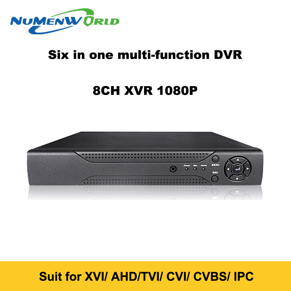 Super New 8CH XVI AHD DVR HD 1080P Video Recorder H 264 CCTV Camera Onvif Network