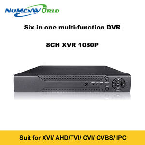 Super New 8CH XVI/AHD DVR HD 1080P Video Recorder H.264+ CCTV Camera Onvif Network 8 Channel IP NVR Multilanguage With Alarm