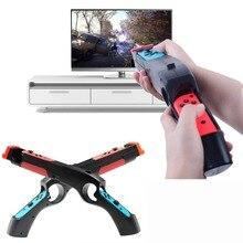 Rend переключатель эргономичная периферийная рукоятка чувство Armas Arma Ручка Джойстик подставка держатель игровой пистолет для Nintendo Switch контроллер