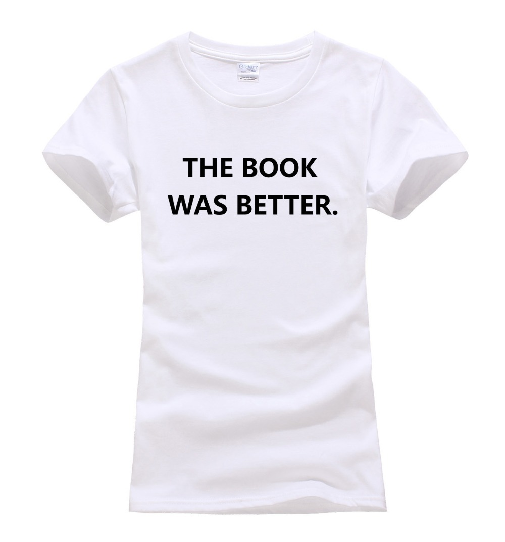 Online buy wholesale brand book tees from china brand book for Books printed on t shirts