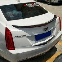 Материал высокого качества из углеродного волокна для Cadillac ATS спойлер 2013 2014 2015 2016 до по углеродного волокна ATS спойлер 4 двери