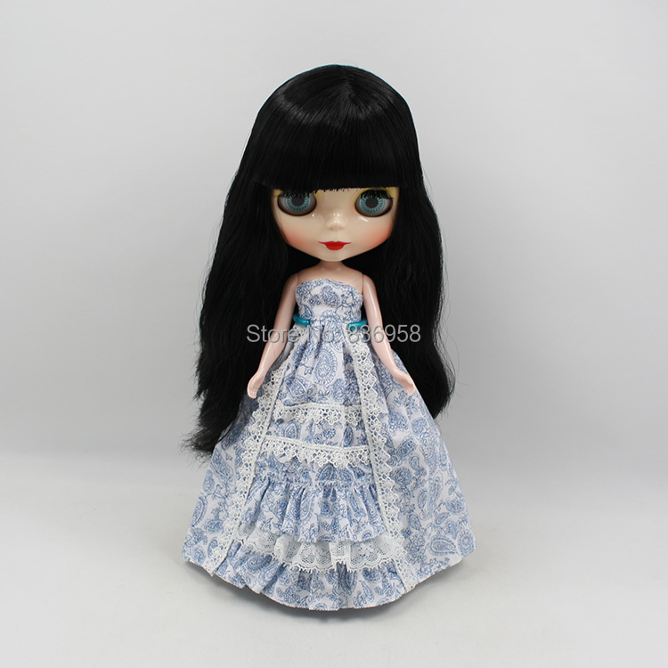 Dolls Diligent Nude Doll For Series No.230bl117 With Bangs Long Black Hair Suitable For Diy Change Bjd Toy For Girls Toys & Hobbies