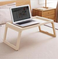 Portable Foldable Multi Function Desk Laptop Stand Lapdesk Computer Notebook Table For Office Breakfast Bed 68x35.8x27.5cm