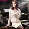 Slim career suits long-sleeved dress new winter lady dress overalls