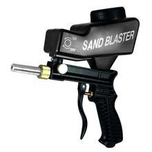 Lightweight Spray Gun Anti Rust Protection Sand Blaster Machine Save Unnecessary Surface Material Adjust Sandblast Flows