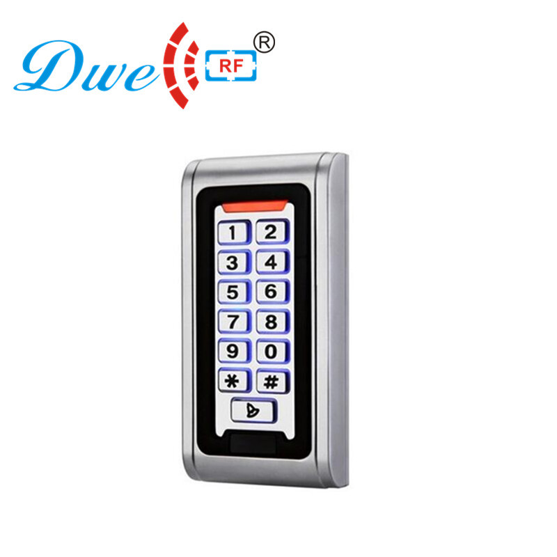 DWE CC RF access control keypad access control keyboard wiegand 26 bit rfid card reader single door access controller wiegand 26 protocal 13 56mhz rfid ic access control card reader without keypad original manufacture ic card reader door access