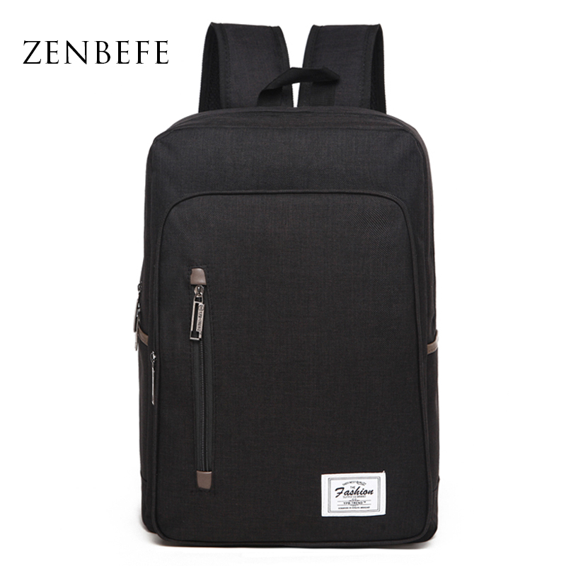 ZENBEFE Office Business Backpacks Quality Laptop Backpack Bolsa Mochila For Travel Bag School Rucksack School Bags For Teenagers dispalang personalized geometric backpack for laptop notebook school bags for college students men s travel bag rucksack mochila