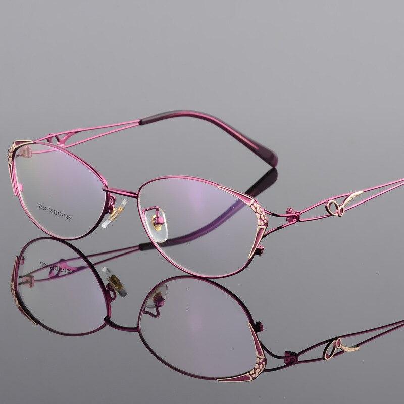 Mode Femmes Cat Eye cadre de lunettes Lady Glasse Optique Cadre lunettes de vue rétro Lunettes D'ordinateur Myopie lunettes de presbytie Chaude