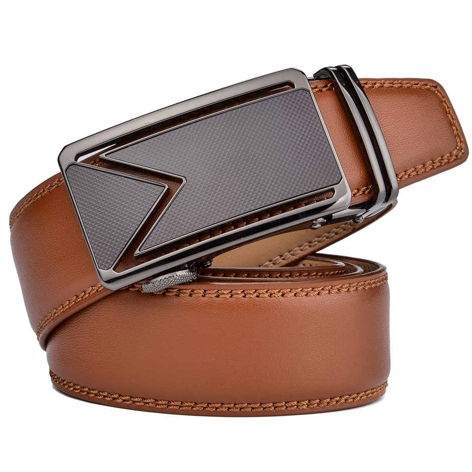 Plyesxale Cowhide Genuine Leather Belt For Men