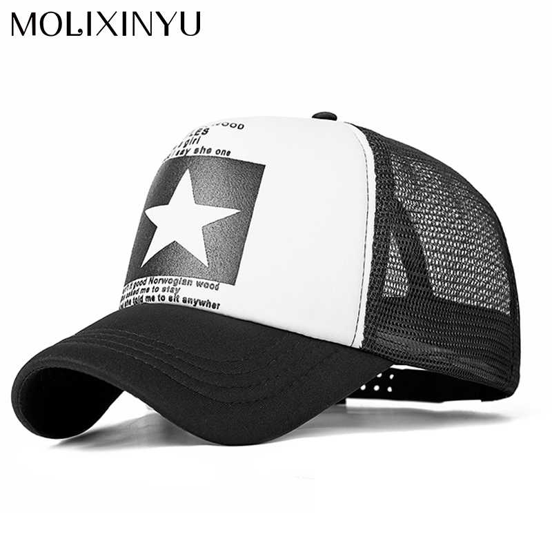 efe6e44a463 MOLIXINYU Fashion Baby Boys Cap Baby Baseball Caps Kids Snapback Mesh Cap  Summer Adjustable Boys Girls