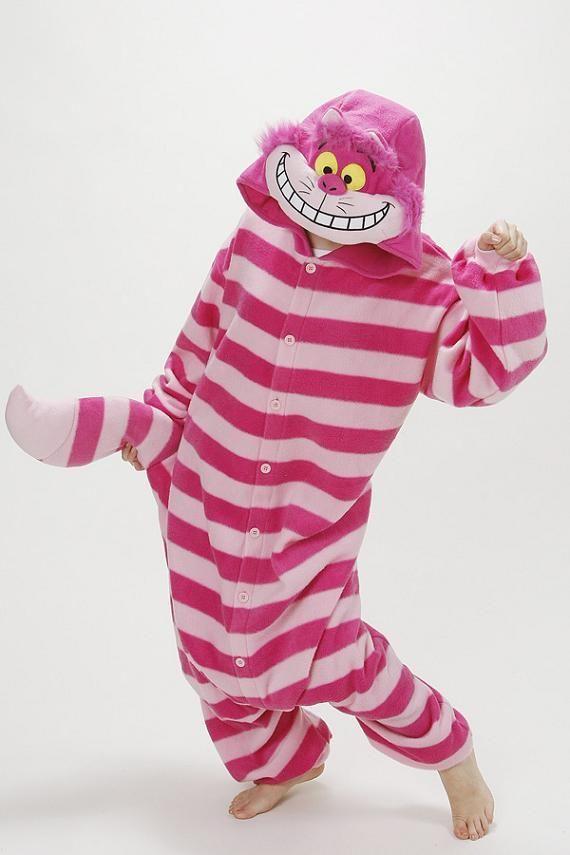 Free shipping Fashion Men/Women Cheshire Cat Animal Onesies Animal Onesies pets Pyjamas/Pajama sleepwear for adult